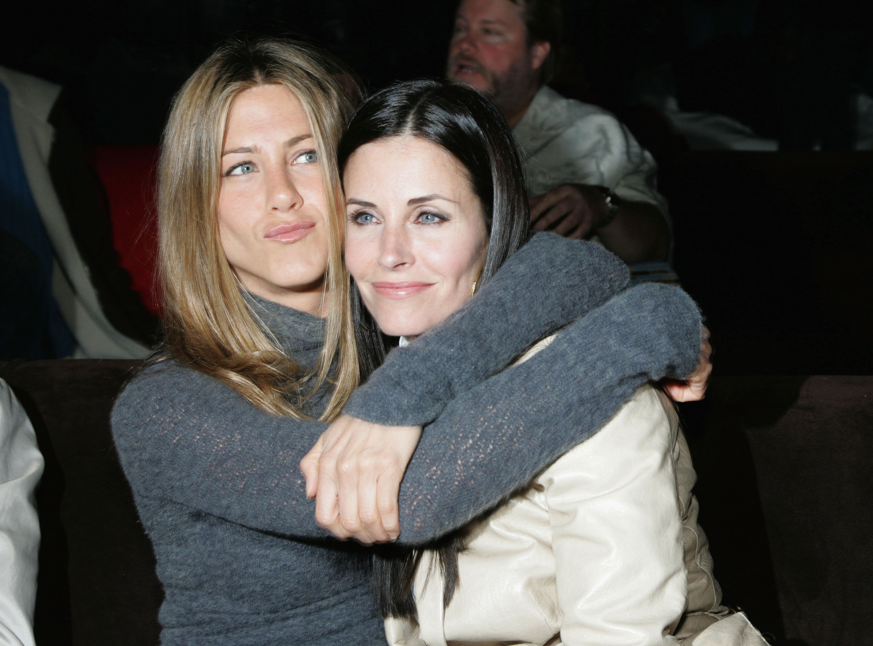 Jennifer Aniston and Courteney Cox. (Photo: Archive)