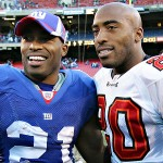 Tiki and Ronde Barber (Photo: Archive)