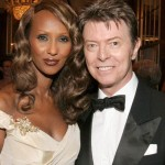 David Bowie and Iman, married in 1992, remained together until his death in 2016. (Photo: Archive)