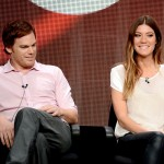 "Dexter stars Michael C. Hall and Jennifer Carpenter fell in love on set, but got divorced in 2011. Jennifer said in an interview ""He is and will always be one of my best friends in the world."" (Photo: Archive)"