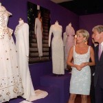 Two months before her death, as a suggestion from Prince William, Princess Diana auctioned off 79 of her dresses, raiding $5.76 million for AIDS and breast cancer charities. (Photo: Archive)