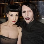 Dita Von Teese and Marilyn Manson (Photo: Archive)