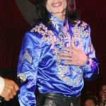 Michael Jackson at a party in 2008. (Photo: Archive)