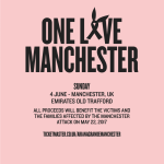 "All the ""One Love Manchester"" concert profits will help the victims of the recent terrorist attack. (Photo: Twitter)"