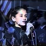 Ariana is a big hockey fan and sang the national anthem at a Panthers game when she was 8. (Photo: Archive)