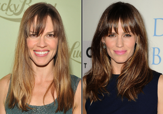 Hillary Swank and Jennifer Garner (Photo: Archive)
