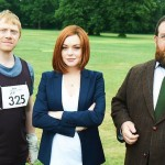 Lohan will share credits with Rupert Grint, Don Johnson, and Nick Frost. (Photo: Twitter)