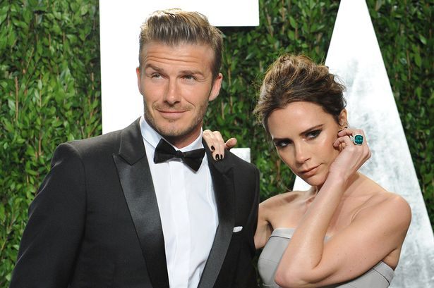 David and Victoria Beckham, married since 1999. (Photo: Archive)