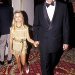 Young Ivanka and her daddy at the Plaza Hotel in New York. (Photo: Archive)