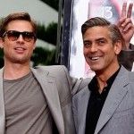 Brad Pitt and George Clooney. (Photo: Archive)