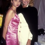 Ivanka with her mom rocking a Barbie-pink dress. (Photo: Archive)