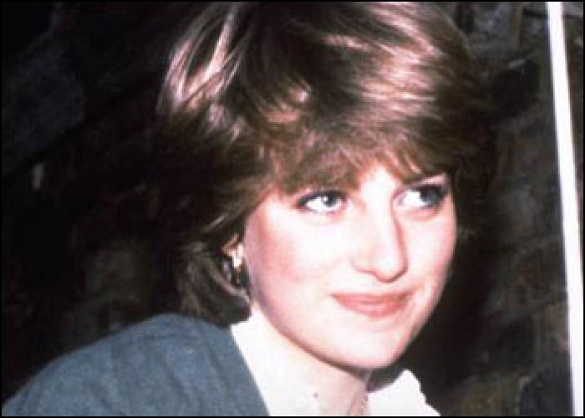 She wasn't the best student. Diana failed her O levels twice and often joked about her poor academic record. (Photo: Archive)
