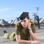 She was a soldier in the Israel Defense Force, which is required of all Israeli citizens, teaching gymnastics and calisthenics. (Photo: Archive)