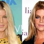Fergie and Kirstie Alley (Photo: Archive)