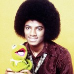 Michael Jackson next to Kermit the Frog in 1978. (Photo: Archive)