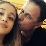 Ariana's dad, Edward, is a graphic designer and founder of IBI Designs Inc. (Photo: Archive)