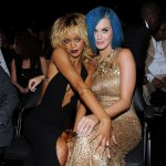Riahanna and Katy Perry. (Photo: Archive)