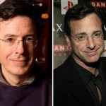 Stephen Colbert and Bob Saget (Photo: Archive)