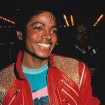 Michael Jackson wearing his iconic red jacket in 1983. (Photo: Archive)