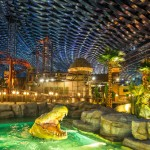 IMG Worlds of Adventure, in Dubai, UAE. It it's the largest indoor theme park ever. It includes four separate zones including a Cartoon Network area and a Marvel comics zone. It opened its doors last summer. (Photo: Archive)