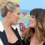 Kate Hudson and Lea Michele. (Photo: Archive)