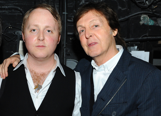 Paul McCartney And James Photo Archive