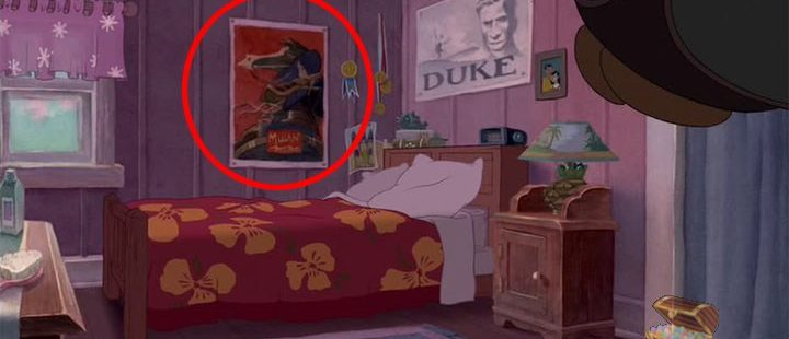 Like In Every Disney Movie, There Are Some Hidden Easter Eggs. Like A Mulan