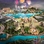 Universal Studios, in Beijing, China. This park has a $3.3 billion price tag and 1,000 acres, as well as design influenced by Steven Spielberg himself. We can't wait till its opening in 2019! (Photo: Archive)