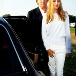 Rocking an all-white look at the Mercedes Benz Polo Match. (Photo: Archive)