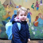 Prince George ready to rule nursery school! (Photo: Release)