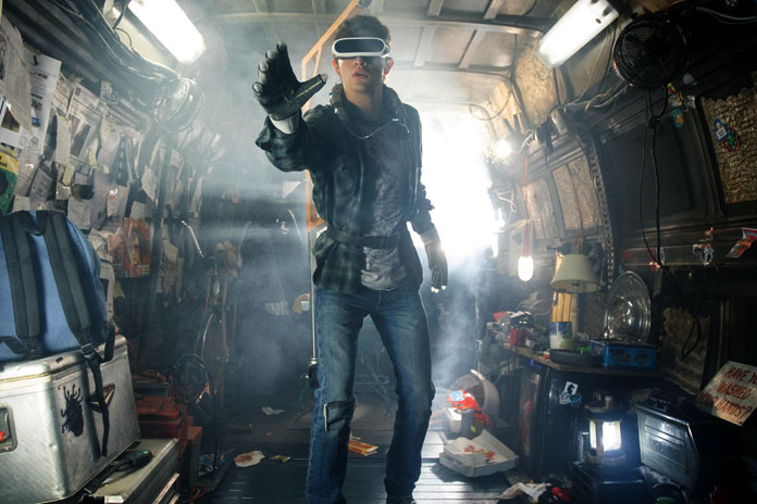 Entertainment Weekly revealed the first official picture of the upcoming film Ready Player One. (Photo: Release)