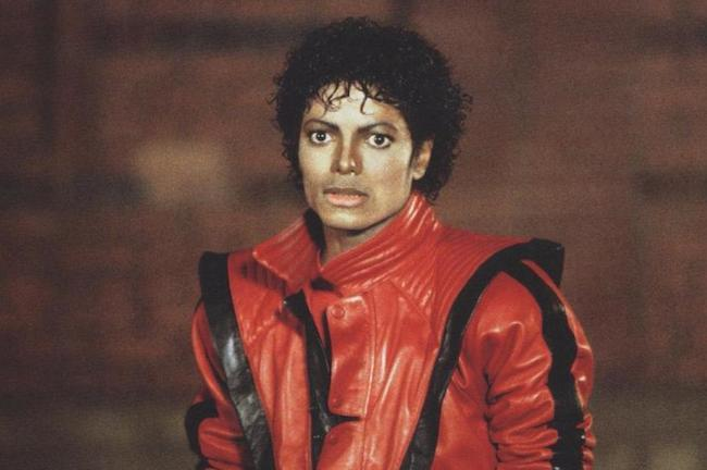 Michael Jackson's red jacket. (Photo: Archive)