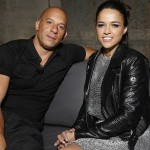 He dated co-star Michelle Rodriguez, who he met on the set of The Fast and the Furious. (Photo: Archive)