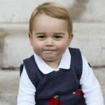 Prince George's Christmas portrait 2014. (Photo: Release)