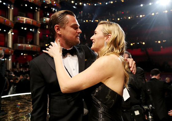 Leonardo DiCaprio and Kate Winslet reunited for a good cause. (Photo: Archive)