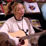 When Phoebe splayed cheerful tunes and brutally honest lyrics for children at a local library. (Photo: Archive)