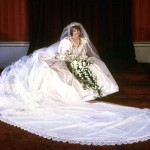 Lady Di's wedding dress. (Photo: Archive)