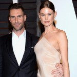 Adam Levine and Behati Prinsloo. Age difference: 10 years. (Photo: Archive)
