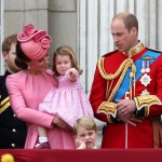 Prince George got a little bored at the 2017 Trooping the Color. (Photo: Release)