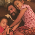 He also has 2 adorable children with Lisa Bonet, Lola Iolani and Nakoa-Wolf Manakauapo Namakaeha. (Photo: Instagram)