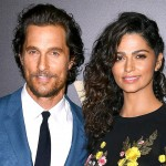 Matthew McConaughey and Camila Alves. Age difference: 13 years. (Photo: Archive)