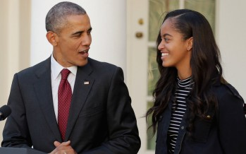 19 Pictures Of Malia and Barack Obama Celebrating Her 19 Birthday