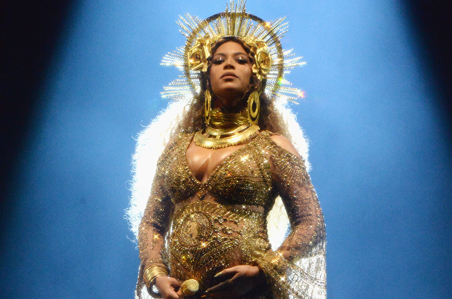 Beyoncé officially introduced her twins on Instagram. (Photo: Release)