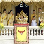 Royal family of Thailand. (Photo: Release)