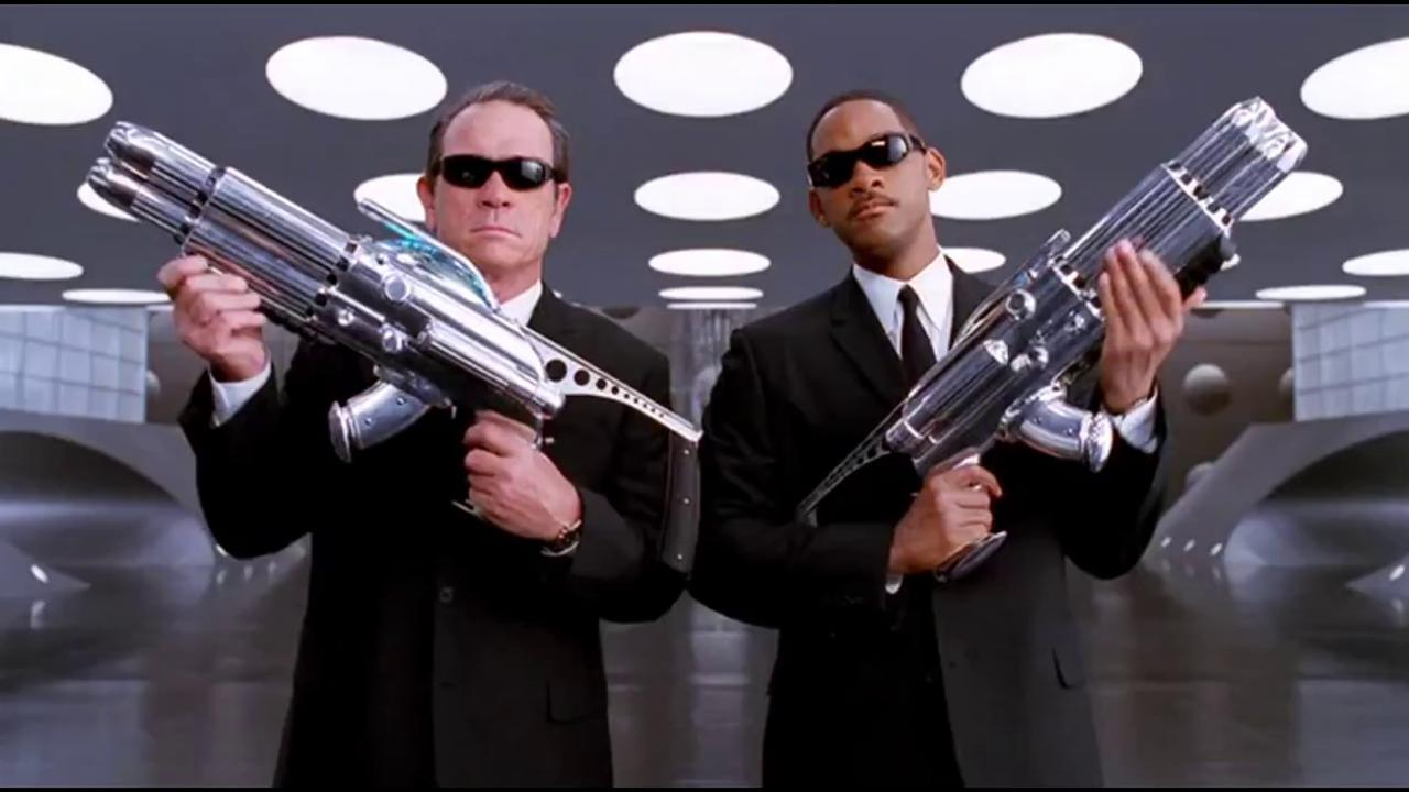 After Men In Black, Ray-Ban's Predator II sunglasses tripled in sales. (Photo: Archive)