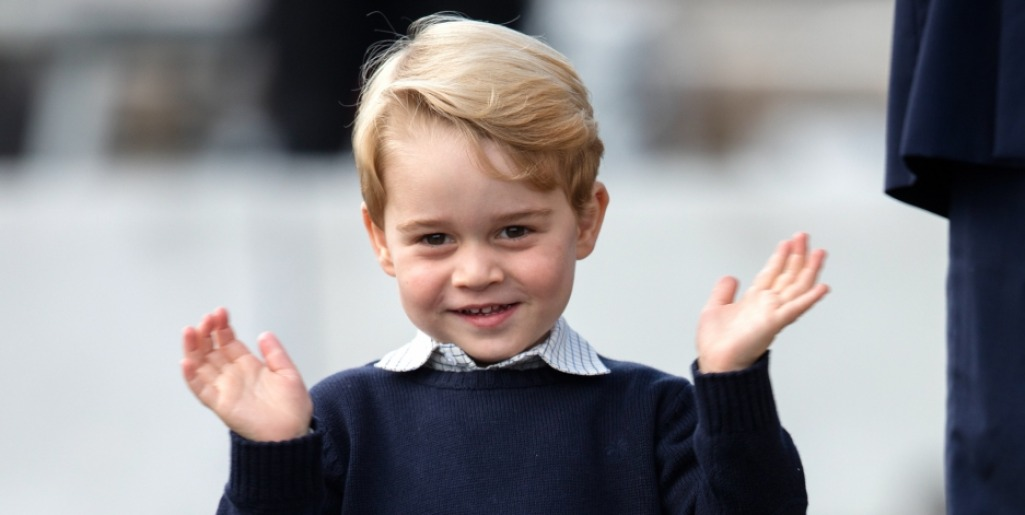Happy birthday, Prince George! (Photo: Release)