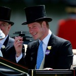 Prince Harry looking like a real-life Prince Charming when he arrived at the Royal Ascot. (Photo: Archive)