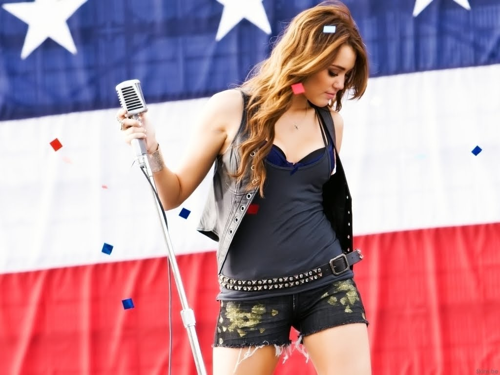 Party in the USA, by Miley Cyrus… (Photo: Archive)