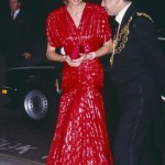 Princes Diana, in a Catherine Walker. (Photo: Archive)