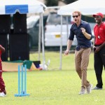 Harry playing cricket at Queen Park Ground. (Photo: Archive)